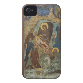 Russia, Yaroslavl, fresco in Cathedral of St. 2 iPhone 4 Case-Mate Case