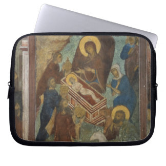 Russia, Yaroslavl, fresco in Cathedral of St. 2 Laptop Sleeve