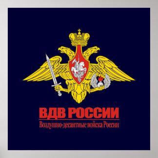 """Russian Airborne Forces Emblem"" Poster"
