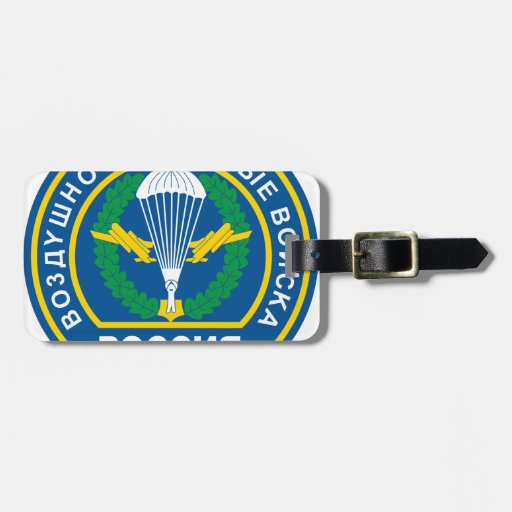 Russian Airborne Troops, shoulder patch (1994) Travel Bag Tags