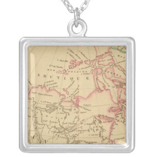 Russian America, New Britain and Canada Silver Plated Necklace