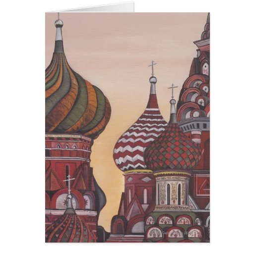 Russian Architecture Greeting Cards