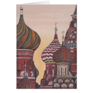 Russian Architecture Greeting Card