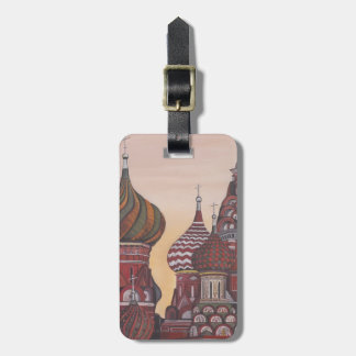 Russian Architecture Luggage Tag
