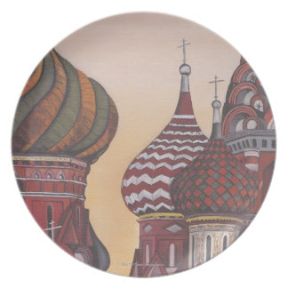 Russian Architecture Plate