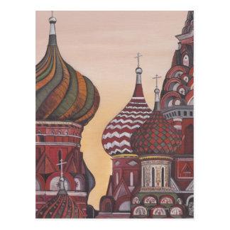 Russian Architecture Postcard