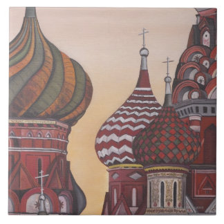 Russian Architecture Tile