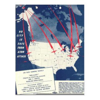 Russian Atomic Threat Postcard