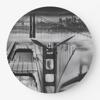 Russian Avant Garde Inspired Golden Gate Bridge Clock