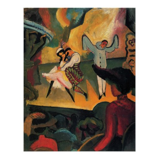 Russian Ballet 1912 Poster
