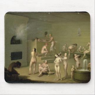 Russian Bath, 1825 Mouse Mat