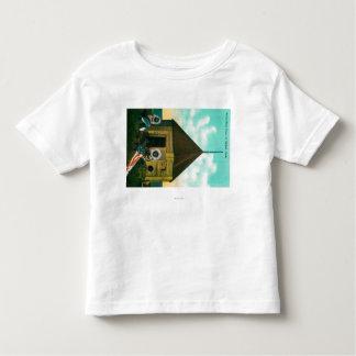 Russian Block House in St. Michael, Alaska Toddler T-Shirt