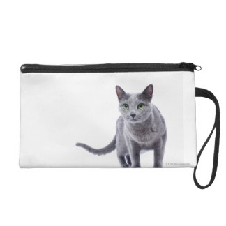 Russian Blue Cat Wristlet