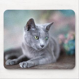 Russian Blue Mouse Mat
