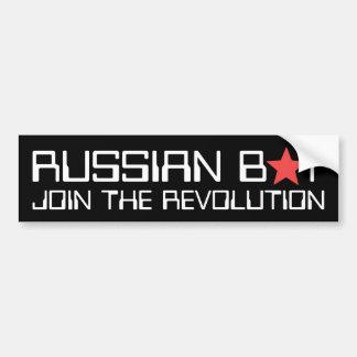 Russian Bot Bumper Sticker
