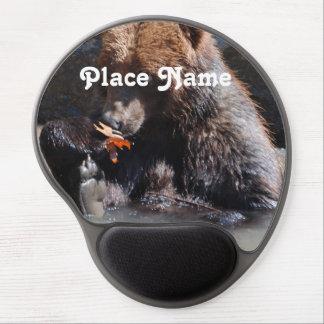 Russian Brown Bear Gel Mouse Pads