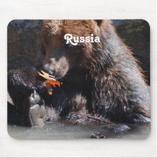 Russian Brown Bear Mousepads