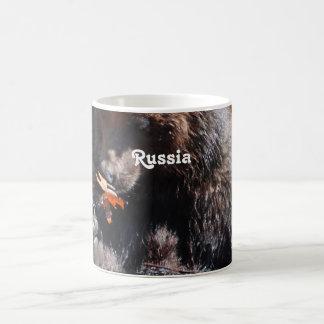 Russian Brown Bear Coffee Mug