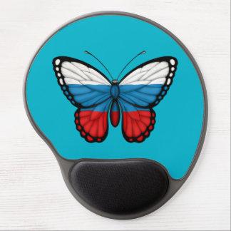 Russian Butterfly Flag Gel Mousepad