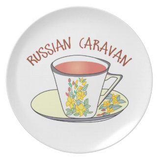 Russian Caravan Dinner Plate