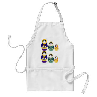Russian christmas dolls standard apron