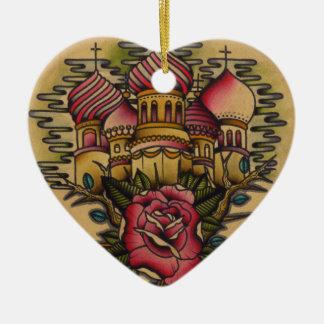 Russian Church Christmas Ornament