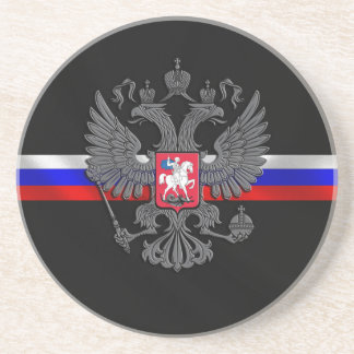 Russian Coat of arms Coaster