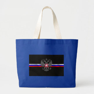 Russian Coat of arms Large Tote Bag