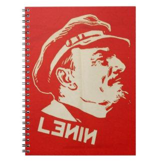Russian Communist Leader Lenin Notebooks