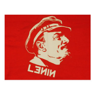 Russian Communist Leader Lenin Postcard