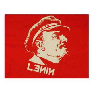 Russian Communist Leader Lenin Postcard