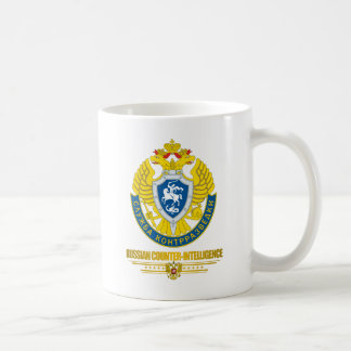 Russian Counter-Intelligence Basic White Mug