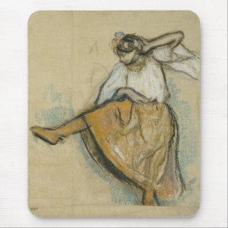 Russian Dancer by Edgar Degas Mouse Mat