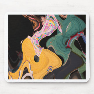 Russian dancers abstract mouse mat