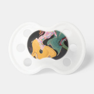 Russian dancers abstract pacifier