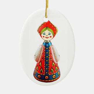 Russian Doll Christmas Ornament