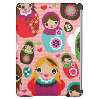 Russian doll illustration background