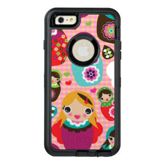 Russian doll illustration background OtterBox iPhone 6/6s plus case