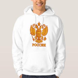Russian Double Headed Eagle Emblem Men's Hoodie