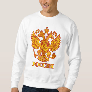 Russian Double Headed Eagle Emblem Sweatshirt