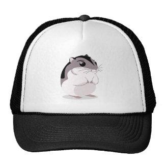 Russian Dwarf Hamster Cartoon Cap