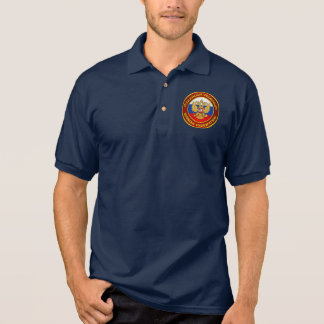 Russian Emblem Apparel Polo Shirt