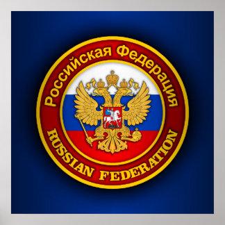 Russian Emblem Posters