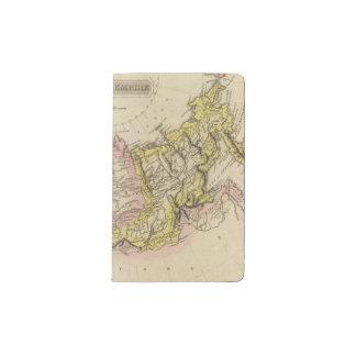Russian Empire 2 Pocket Moleskine Notebook