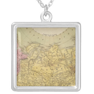 Russian Empire 4 Silver Plated Necklace