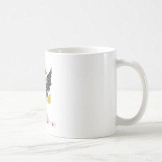 Russian empire coat of arms basic white mug