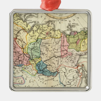 Russian Empire Ethnography Christmas Ornament
