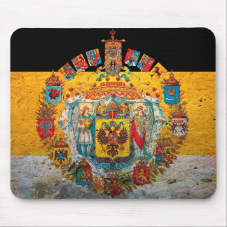 Russian Empire Flag Mouse Pad