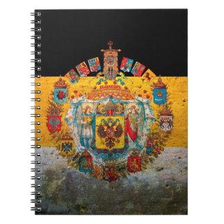 Russian Empire Flag Notebook