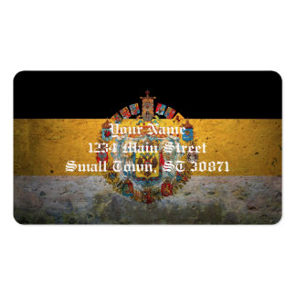 Russian Empire Flag Pack Of Standard Business Cards